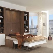Шкаф-кровать двуспальная фото