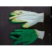 Перчатки рабочие двойной облив фото
