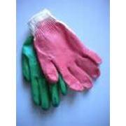 Перчатки рабочие с латексным покрытием фото