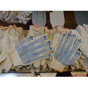 Перчатки рабочие с ПВХ-покрытием. фото