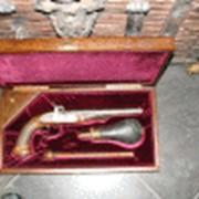Пистолет капсульный антикварное оружие фото