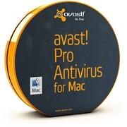 Антивирус для Apple avast! Pro Antivirus for MAC, 1 год (от 10 до 19 пользователей) для мед/госучреждений (PAM-07-010-12-GOV) фото