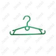 Вешалка детская с крючками зеленая, 245мм, В-102-А-З зеленая фото