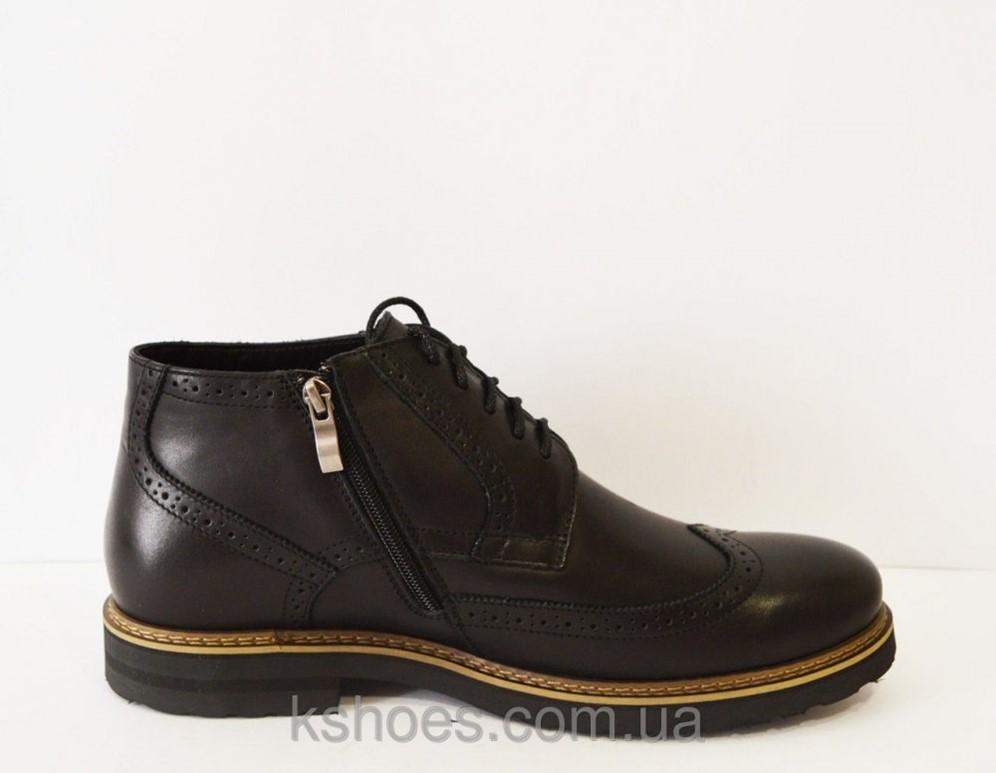 835ad5544 Ботинки зимние мужские черные Faber 177201 в Александрии (Ботинки ...