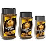 Кофе Растворимый Черная Карта Gold (95г) фото