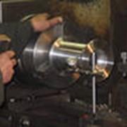 Обработка механических частей станка фото
