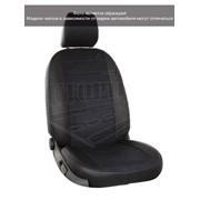 Чехлы Hyundai Elantra V 11 черный аригон + черная алькантара Автопилот
