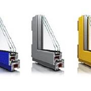 Двери из металлопластика серого цвета фото