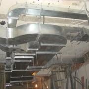 Установка вентиляционных блоков фото