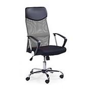 Кресло компьютерное Halmar VIRE (черно-серый) фото