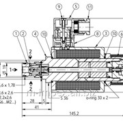 Распределитель 2х-позиционный искробезопасный Ponar типа 2IRES 6 фото