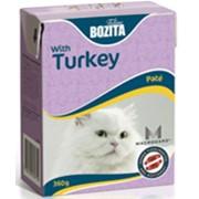 Бозита консервы для кошек паштет с индейкой фото
