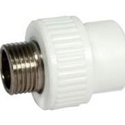 Муфта кοмбинированная с наружной резьбой 20x3/4 ПП 3222-nmo-200c00