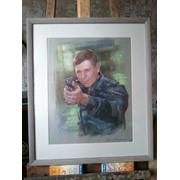 Портрет пастелью   pastel portrait фото