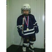 Майка хоккейная игровая сшивная фото