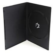 Сумки, боксы для дисков CD, DVD, DVD box 7mm черный фото