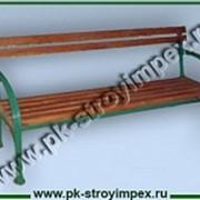 Скамейка СМ-1 фото