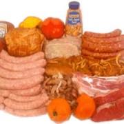 Колбасные и мясные изделия фото