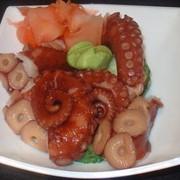 Доставка обедов, Сашими и салаты фото