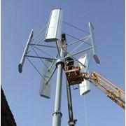 Ветрогенератор бесшумный, вертикальный, инерционный: мощностью 5 кВт. фото