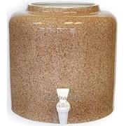 Диспенсер керамический Мрамор коричневый (арт. 013) фото