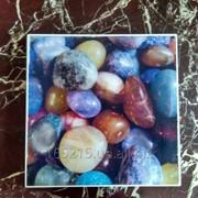 Подоконники из искусственного камня с 3D изображением фото