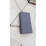 Плитка тротуарная Кирпичик сиреневый цвет фото