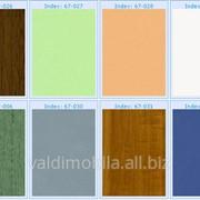 Пленка поливинилхлоридная ударопрочная жесткая для производства мебельных фасадов МДФ (вакуумформовка), марка ПЖ фото