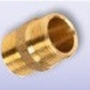 Патрубок резьбовой для предизолированных труб фото