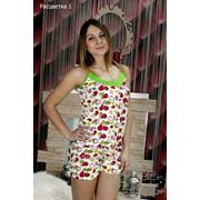 Пижама женская с шортами, хлопок фото