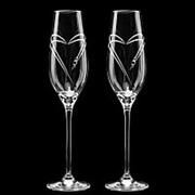 Свадебные бокалы SWAROVSKI (АРТ. S6) фото