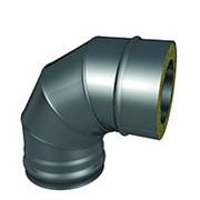 Отвод термо ОТ-Р 430 87 градусов 0,8/0,5мм диаметр 115/180 мм фото