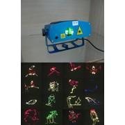 Голографический лазерный проектор SD-168 3 цвета фото
