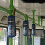 Размещение рекламы внутри транспорта фото