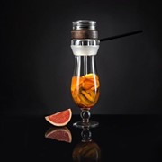 Кальян в стакане Hurricane Glass фото