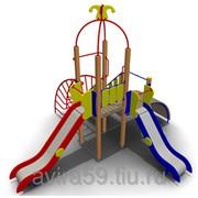 Детский игровой комплекс для улицы ИК-15 Размеры 5410х5010х4060мм фото