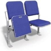 Кресло стадионное складное мягкое фото