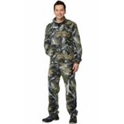 Костюм флисовый (джемпер, брюки) КМФ Тёмный лес фото