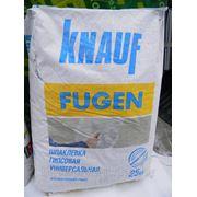 Фуген / Фугенфюллер гипсовая шпаклевка (Fugenfuller), 25 кг., РФ фото