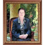 Женский портрет маслом на холсте фото