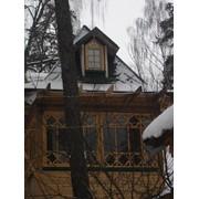 Витраж деревянный фото