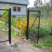 Садовые металлические ворота и калитки фото