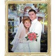 Свадебный портрет - маслом на холсте. фото