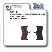 Колодка дисковая Zeit DK-21 фото
