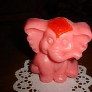 Мыло в форме слоника фото