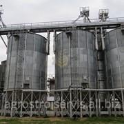 Зернохранилища, емкости для хранения зерна (Силоса) с конусным и плоским дном фото