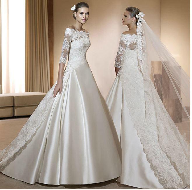 560c045207a Свадебное платье для венчания. в Москве (Подвенечные платья ...