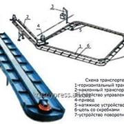 Транспортер навозоуборочный (навозоудаления) ТСН-160 фото
