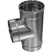 Дымоходы ROSINOX Тройник 250/180/250/90° (кислотостойкая/0,5/ВА) ТЕРМО/25 фото
