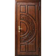 Дверь металлическая с декоративной отделкой фото